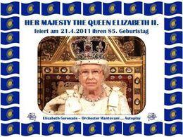 PPS évènement: Quenn Elizabeth II zum 85 Geburtstag