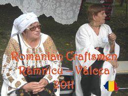 Romanian craftsmen Ramnicu Valcea 2011