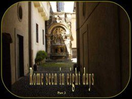 Rome seen in eight days part 2