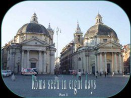 Rome seen in eight days part 3