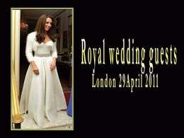 Royal wedding guests