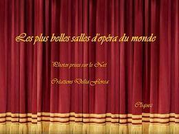 Salles d'opéra du monde