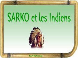 Diaporama blague: Sarko et les indiens