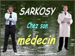 Sarkosy chez son médecin