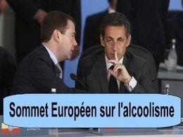 Sommet européen sur l'alcoolisme
