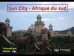 Voyage en Afrique du sud: Diaporama Sun city Afrique du Sud