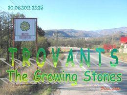 Trovants the growing stones of Romania