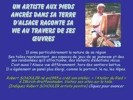 Art: Diaporama Un artiste qui raconte sa vie