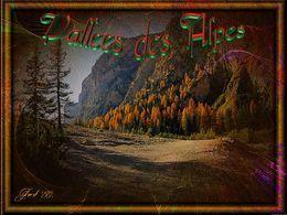 Vallées des Alpes