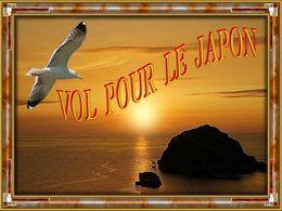 Le diaporama Vol pour le Japon