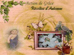 diaporama pps Action de grâce – Récoltes d'Automne