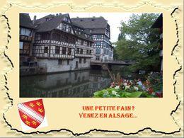 diaporama pps Alsace une visite gastronomique