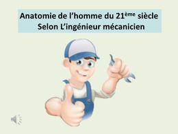 diaporama pps Anatomie de l'homme moderne