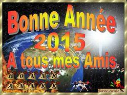 diaporama pps Bonne année 2015 à tous mes amis