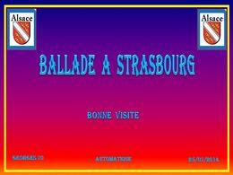 diaporama pps Ballade à Strasbourg