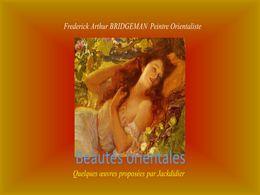 diaporama pps Beautés orientales – Frederick Arthur Bridgman