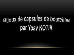 diaporama pps Bijoux de capsules de bouteilles