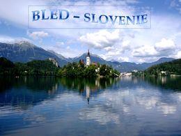 diaporama pps La ville de Bled en Slovénie