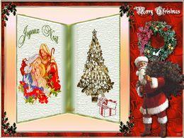 diaporama pps Bon et joyeux Noël