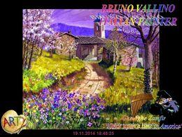 diaporama pps Bruno Vallino 1949 italian painter