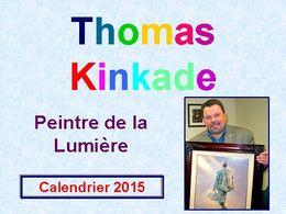 diaporama pps Calendar 2015 – Thomas Kinkade