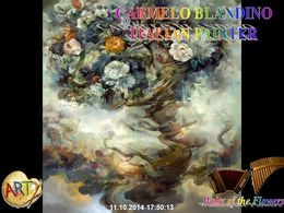 diaporama pps Carmelo Blandino 1966 italian painter