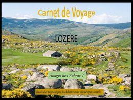 diaporama pps Voyage en Lozère – villages de l'Aubrac 2