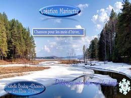 diaporama pps Chanson pour les mois d'hiver