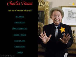 diaporama pps Charles Trenet
