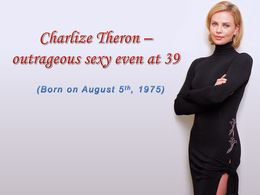 diaporama pps Charlize Theron