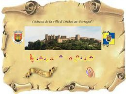 diaporama pps Château d'Obidos au Portugal