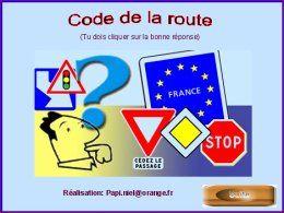 diaporama pps Code de la route