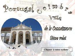 diaporama pps Coimbra au Portugal
