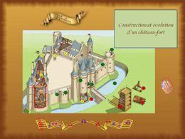 diaporama pps Construction d'un château fort