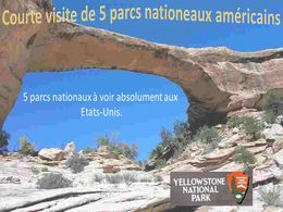diaporama pps Visite de 5 parcs nationaux américains