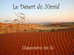 diaporama pps Désert de Namibie