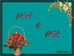 diaporama pps Panier de fleurs