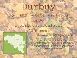 diaporama pps Durbuy en automne