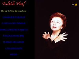 diaporama pps Edith Piaf III