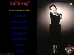 diaporama pps Edith Piaf IV