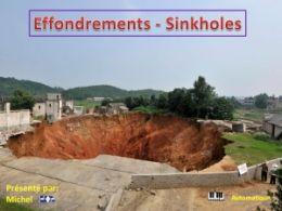 diaporama pps Effondrements – Sinkholes