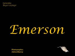 diaporama pps Emerson