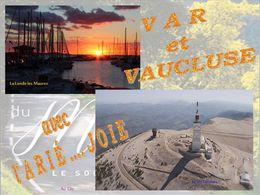 diaporama pps Entre Var et Vaucluse