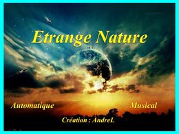 diaporama pps Etrange nature off