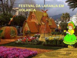 diaporama pps Festival da laranja em Holanda