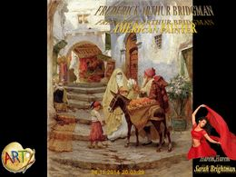 diaporama pps Frederick Arthur Bridgman american painter