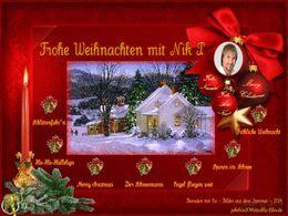 diaporama pps Frohe weihnachten mit Nik P.