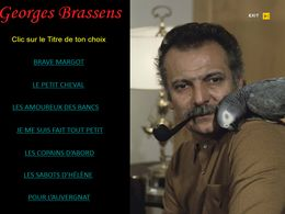 diaporama pps Georges Brassens I