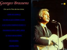 diaporama pps Georges Brassens II