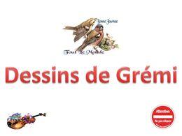 diaporama pps Dessins de Grémi